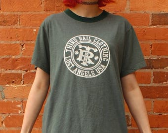 Third Rail Clothing Lost Angeles Vintage Ringer T-Shirt