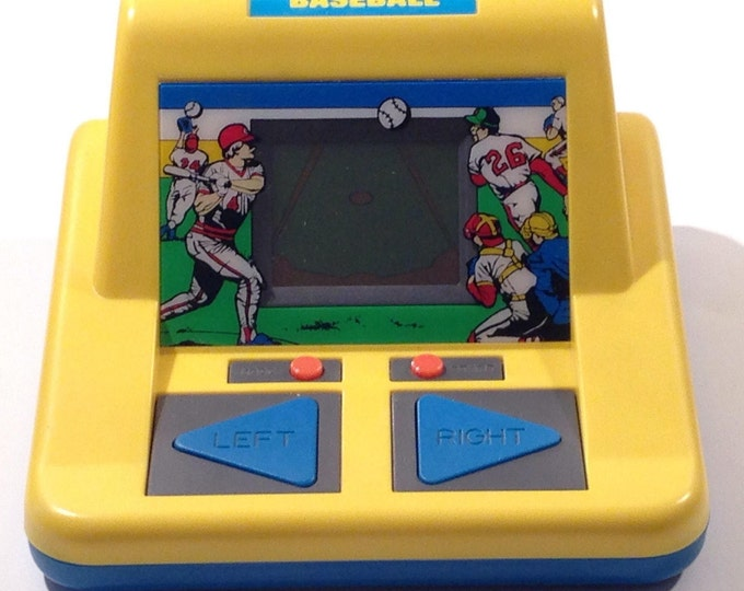 Radio Shack Vintage 1989 Baseball Electronic Handheld Video Game offered by Crafts by the Sea