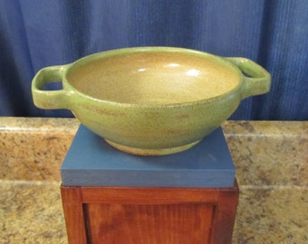 Bowl with Handles (Green)