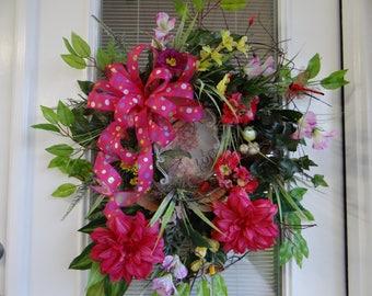 Spring/Summer Wreath Door Wreath