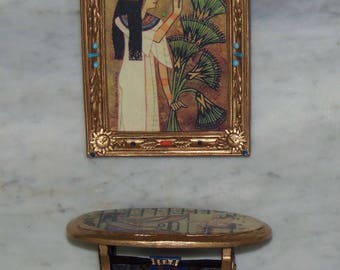 Egyptian Artwork for 1:12th Dollhouse.
