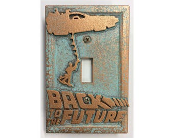 Back to the Future - Light Switch Cover