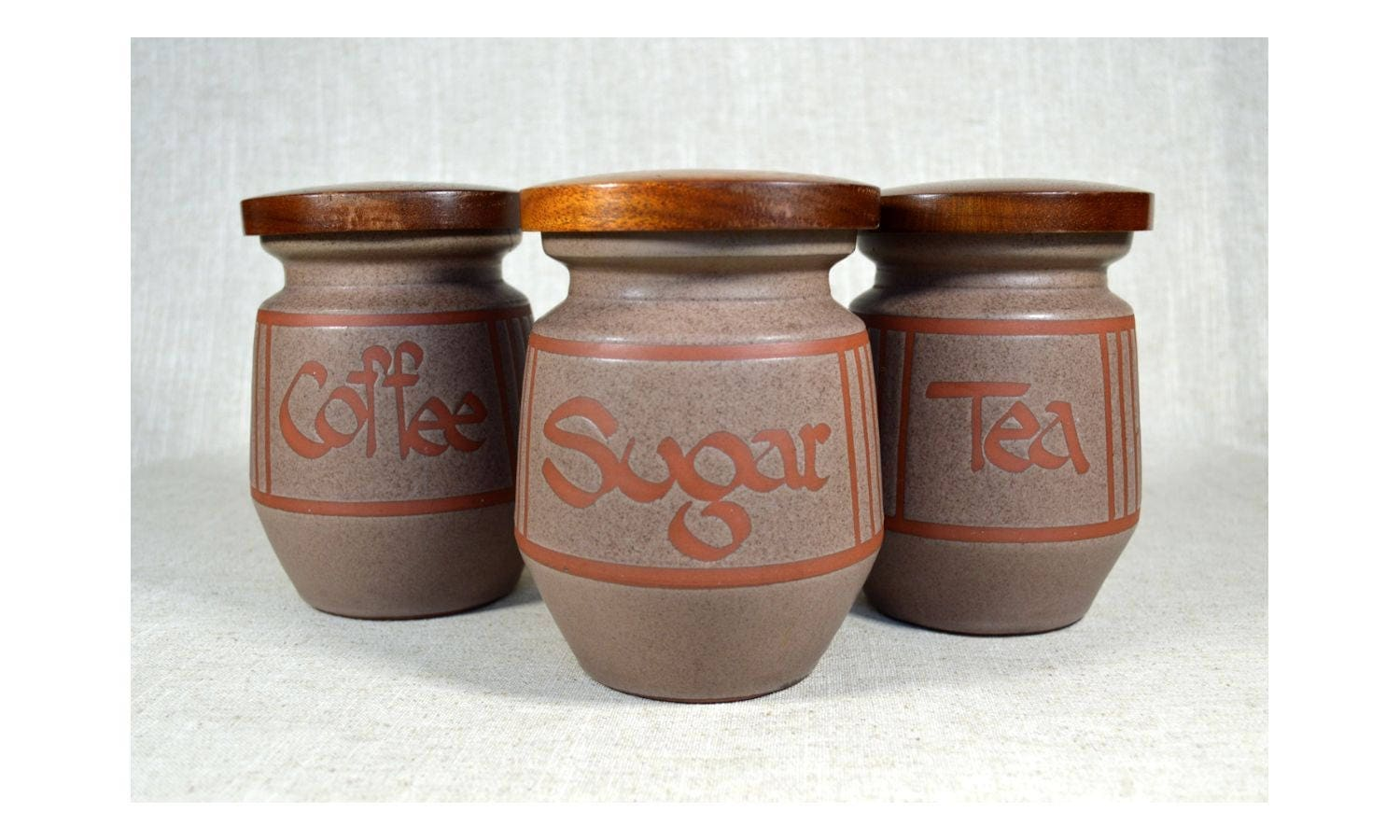 Wellhouse Pottery Canisters