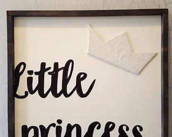 "Little princess 24x24"""