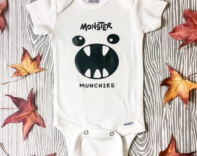 Monster Munchies Onesie