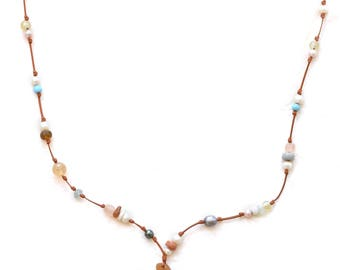 Sea Glass and Treasure Necklace