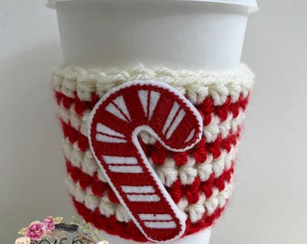 "The ""Candy Cane"" Cozie"
