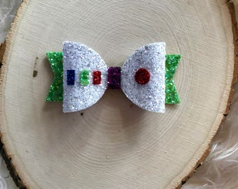 Disney Toy Story Inspired Buzz Lightyear Hair Bow, Buzz Lightyear Hair Clip, Buzz Lightyear Headband, Toy Story