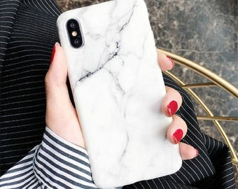 White Marble case.iPhone X case.Clear iPhone 10 case.Marble iPhone X case.Rubber iPhone X case.Marble iPhone case.iPhone X case Marble.Soft
