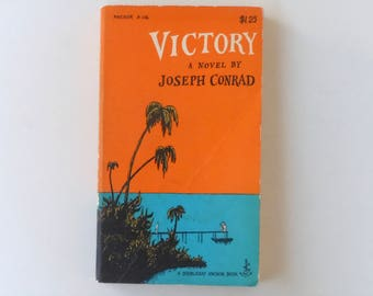 Edward Gorey Cover Art Victory by Joseph Conrad Vintage Doubleday Anchor Paperback Book