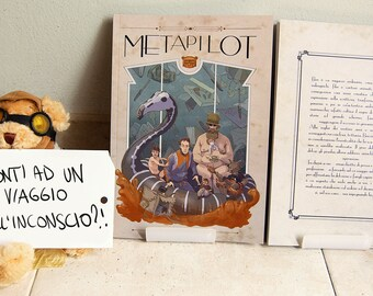 Metapilot | Picture book, illustrated story.