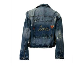 Jean Denim All I Need Jacket