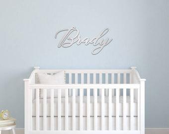 Custom Name Sign, Custom wood name, Nursery name sign, Kids Room Decor, Baby Name Sign, Crib Name Sign, Wood Name Sign, Nursery Wall Decor