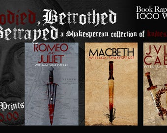 Bloodied, Betrothed and Betrayed 3 Pack! (1000 WORDS)