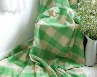 Beautiful vintage wool blanket.