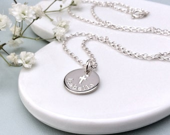 Personalised baptism gift, Christening gift, First communion gift, Gift for goddaughter, Confirmation gift, Sterling silver gift