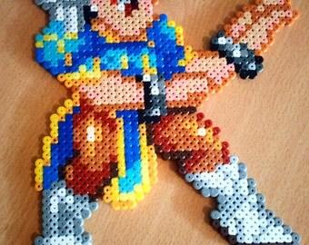 Chun Li perler beads