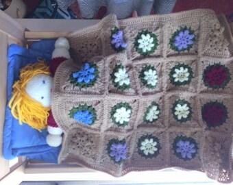 Ikea Doll Bed - Crochet Blanket