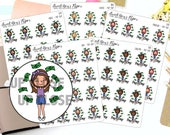 Pay Day Planner Stickers - Work Planner Stickers - Money Planner Stickers - Character Planner Stickers - 1277 - 1278 - 1279 - 1280 - 1281