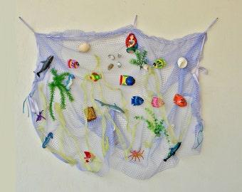 Little Mermaid Backdrop, Ocean Backdrop, Under The Sea Birthday Party Decor, Ariel Backdrop Birthday Decor, The Little Mermaid Shower, Fish