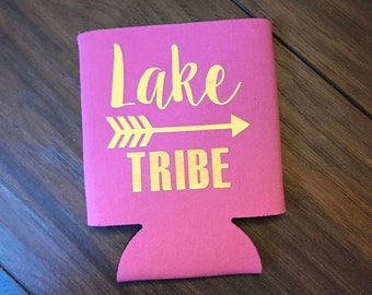 LAKE TRIBE Can Coolers (multiple colors available)