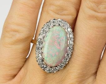 7.94 Carat Opal Ring