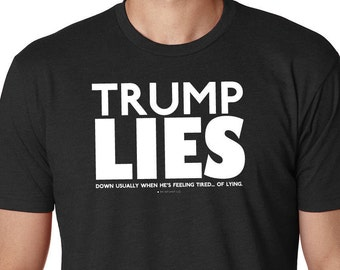 TRUMP LIES - Black