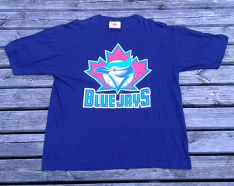 Vintage 1996 Toronto Blue Jays DEADSTOCK t-shirt Made in Canade large