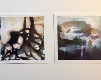 Two 4x4 Fine Art Prints