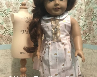 Classic Sleeveless Dress for 18 inch Dolls