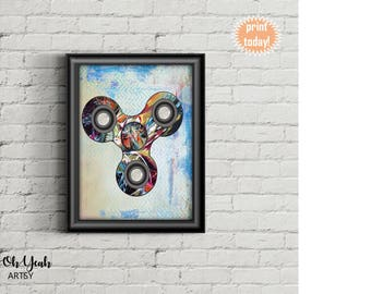 Graffiti Fidget Spinner