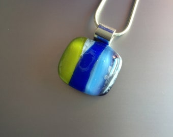 Necklace-Jewellery-glass pendant-Gift woman-jewelry-pendant-schmuck glass-kette-gift women-fusing glass-hook-Birthday-glass (with free chain)