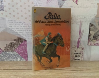 Palio, The Wildest Horse Race In The World By Marguerite Henry (Lions, 1976) Vintage Paperback