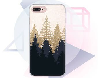 Forest Case for iPhone X iPhone 6S Case Trees 7Samsung Galaxy 8iPhone Plus Transparent Case Clear Case For Samsung iPhone 5 iPhone SE MC1062