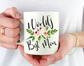 Worlds Best Mom Mug,Best Mom Mug,Mom Mug,Gift For Mom,Mom Gift,Mom Gift Idea,Worlds Best Mommy Mug,Mothers Day Gift,Gift For Mother's Day