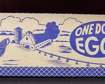 Vintage Cardboard Shurpak Egg Cartons