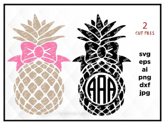 Download Pineapple SVG Pineapple Monogram svg Pineapple Monogram frame