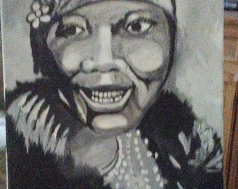 1920's & 30's Blues Singer BESSIE SMITH by Portland artist Joseph Cardinal.