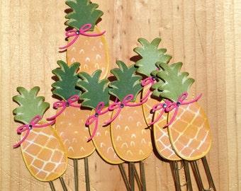 Pineapple Planner Clips, Bookmarks, Pocket Letter