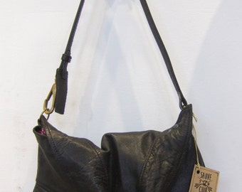 Recycled leather Lady bag