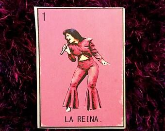Selena Loteria Vinyl Sticker