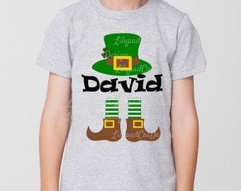 Leprechaun SVG, Shamrock svg, St Patrick's Day svg, shamrock svg, clover svg, PNG, DXF, monogram svg, St Patrick's Day shirt