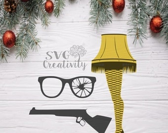 A Christmas Story Inspired Designs Bundle SVG, A Christmas Story SVG