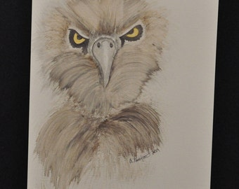 Angry Eagle Painting