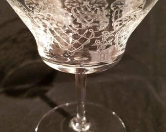 16 glasses engraved