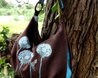 Embroidered bag for women Textile Shoulder Bag for City Embroidered Gift Women's Shoulder Bag on Summer Shoulder Bag Embroidery