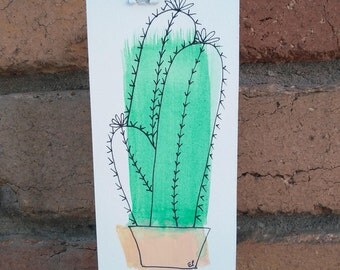 Lace Cactus Original Artwork