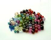 Kristallperlen | verschiedene Farben und Formen | Schmuckherstellung