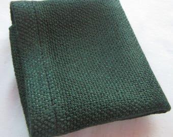 Sustainably Soft bamboo Washcloths- Dark Green