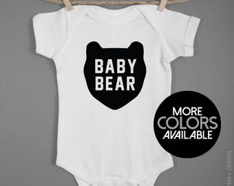 Baby Bear Romper. Baby Boy Onesie. Newborn 6M 12M 18M Romper. Baby Bodysuit. Baby Shower Gift. Newborn Gift. Coming Home Outfit